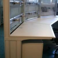 biurko corfu ze stelażem
